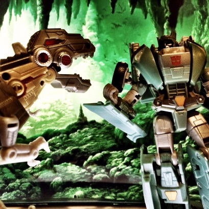 Me, Grimlock, like listening to old stories.